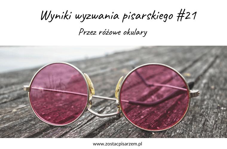 podsumowanie wyzwania przez różowe okulary